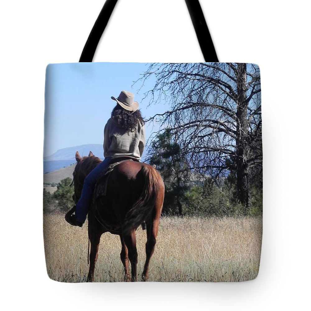 Photograph Tote Bag featuring the photograph What Lies Ahead Series...follow Your Dreams by Chrisann Ellis