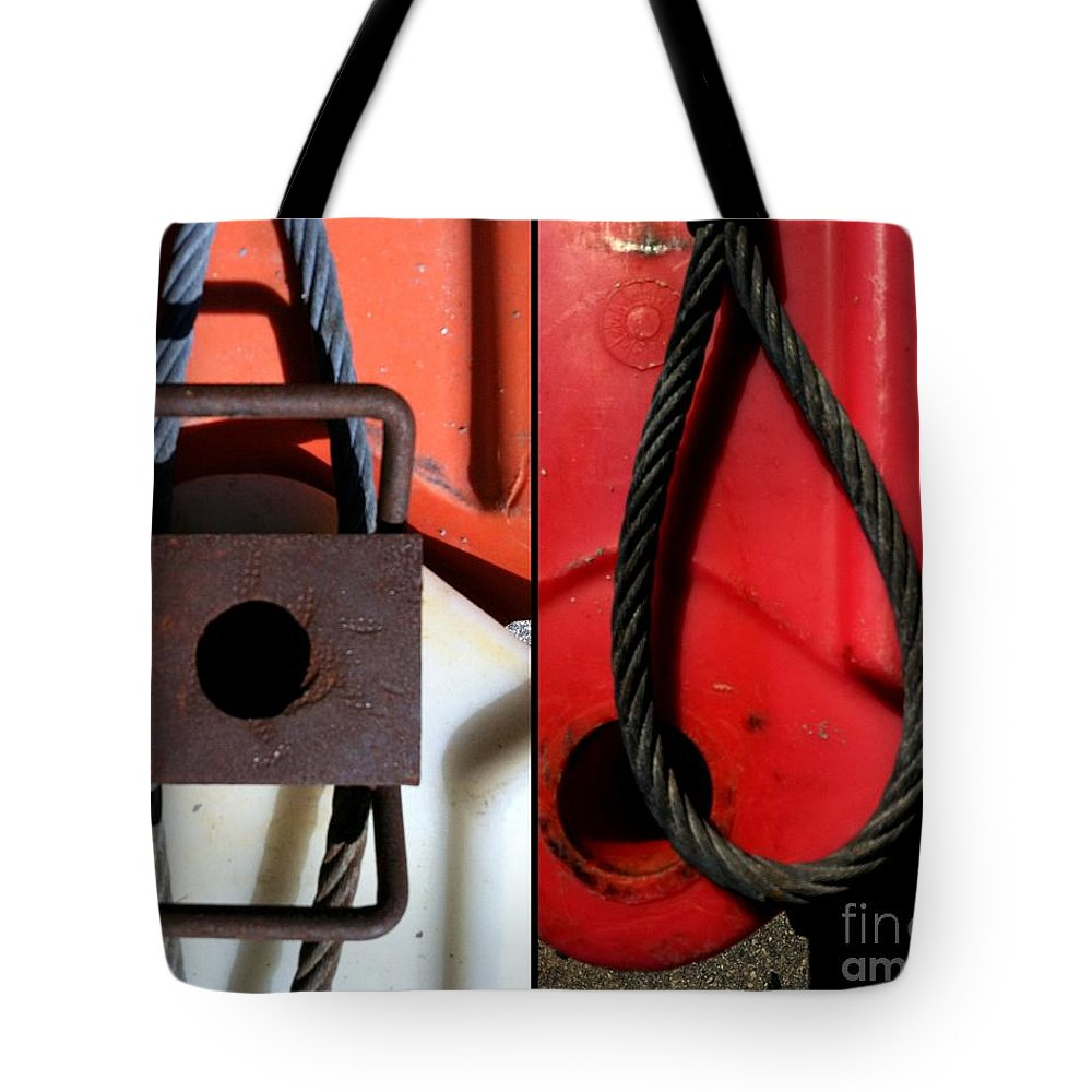 Marlene Burns Tote Bag featuring the photograph Whats Noose by Marlene Burns