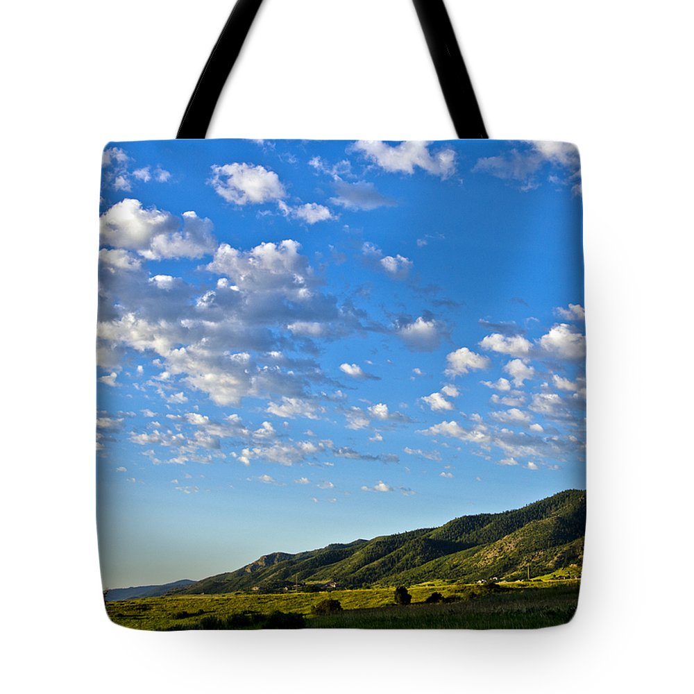 Mountains Tote Bag featuring the photograph When Clouds Meet Mountains 2 by Angelina Vick
