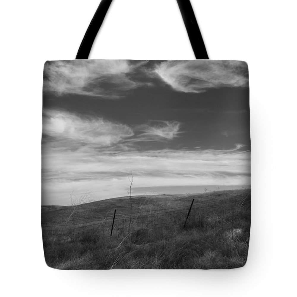 Hills Tote Bag featuring the photograph Whipping Up The Hillside by Kathleen Grace