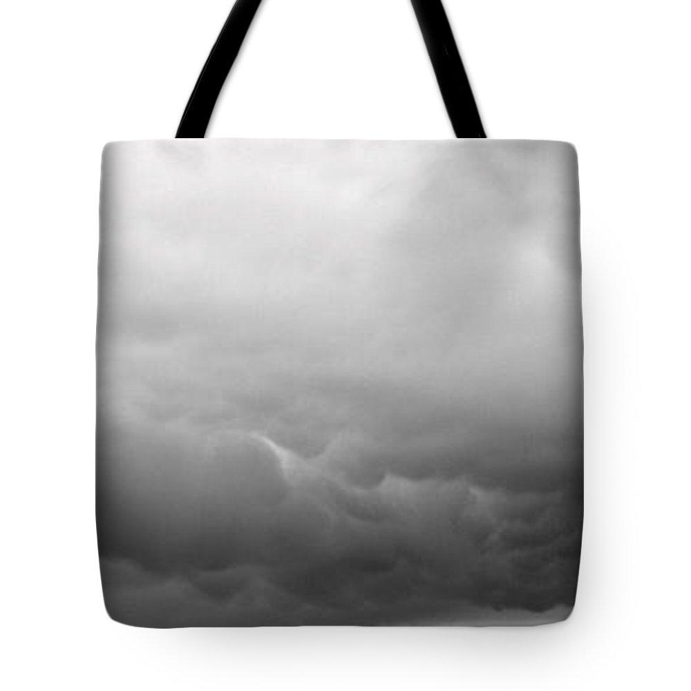 White Mountain Tote Bag featuring the photograph White Mountain by Ed Smith