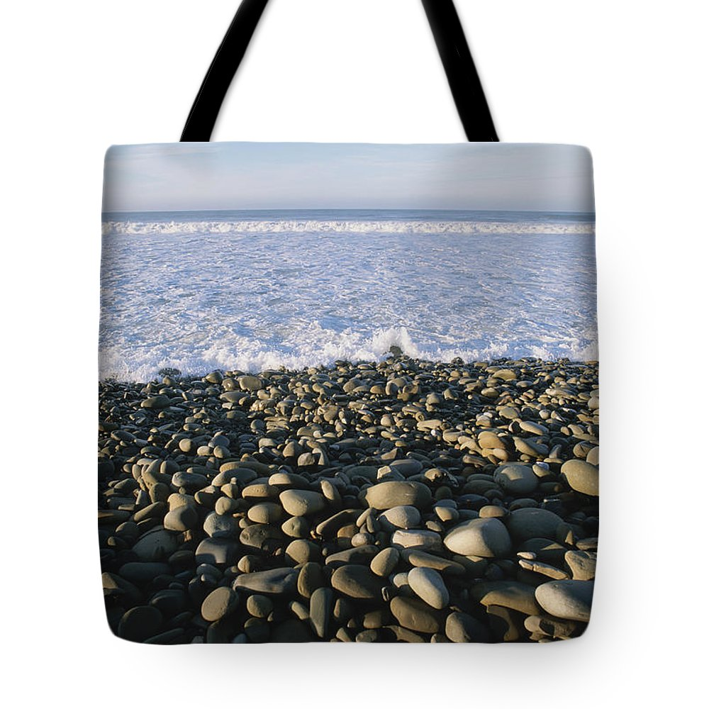 North America Tote Bag featuring the photograph Whitewater From Crashing Waves Washes by Rich Reid