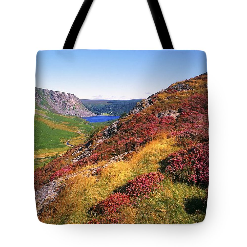 Clear Sky Tote Bag featuring the photograph Wicklow Way, Co Wicklow, Ireland Long by The Irish Image Collection
