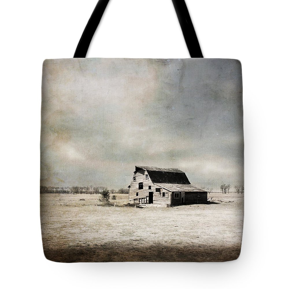 Barn Tote Bag featuring the photograph Wide Open Spaces by Julie Hamilton