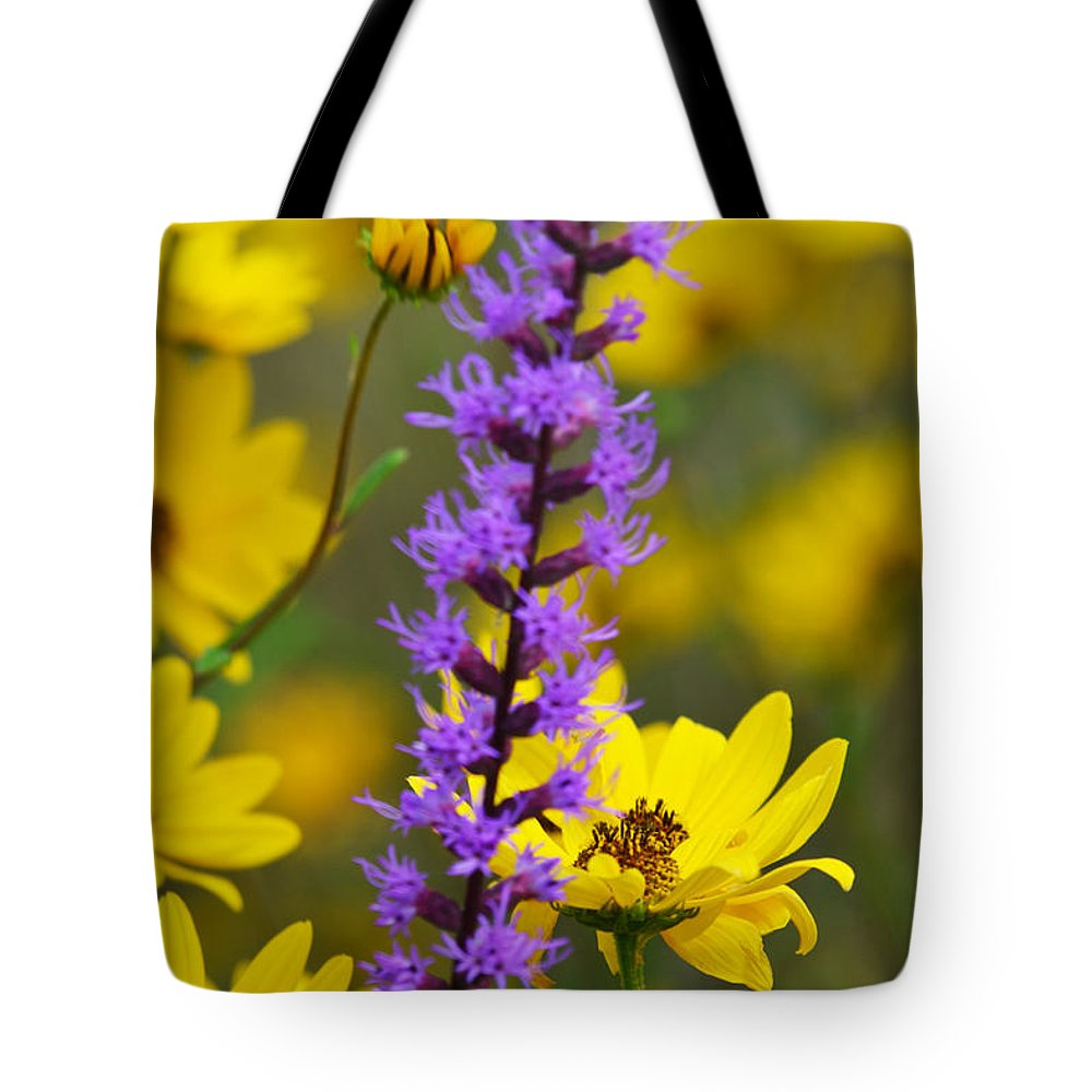 Flower Tote Bag featuring the photograph Wild Breeze by Melanie Moraga