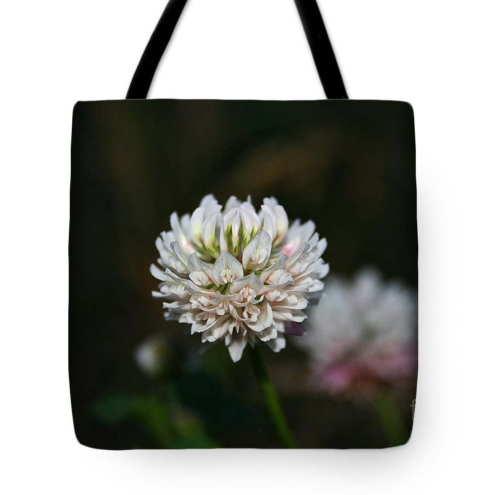 Outdoors Tote Bag featuring the photograph Wild Clover by Susan Herber
