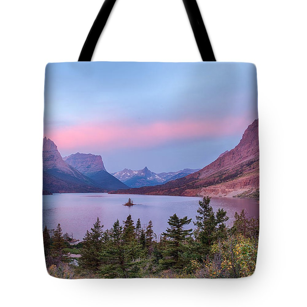 Sunrise Tote Bag featuring the photograph Wild Goose Island by Jay Seeley
