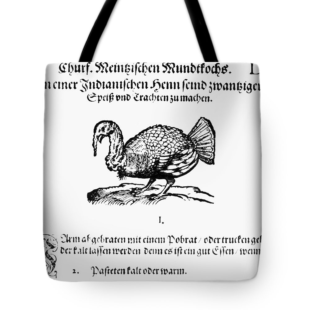 1604 Tote Bag featuring the photograph Wild Turkey, 1604 by Granger