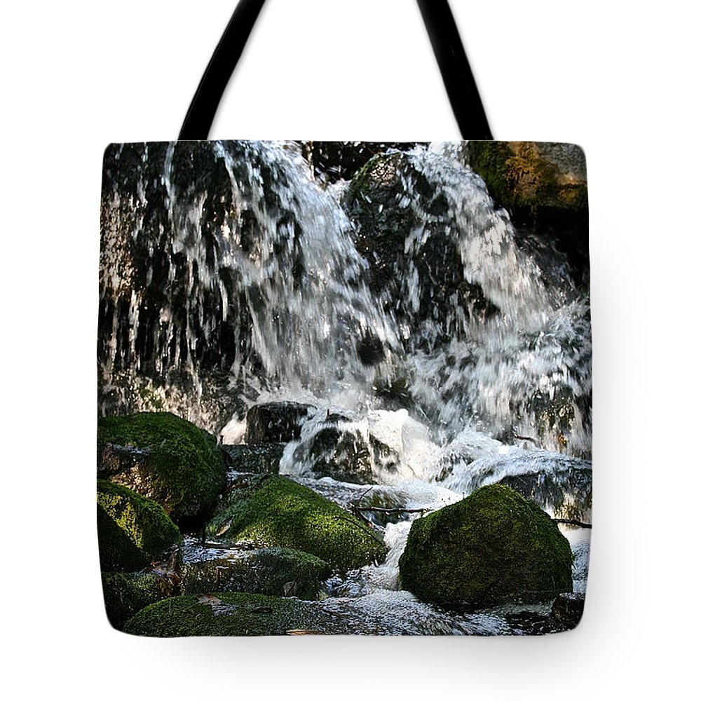 Outdoors Tote Bag featuring the photograph Wild Water by Susan Herber
