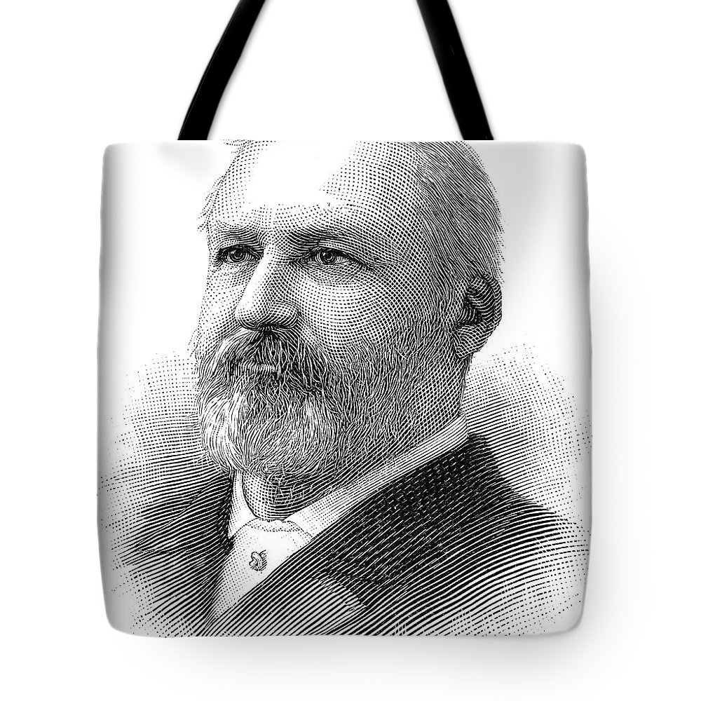 1890 Tote Bag featuring the photograph William Henry Hatch by Granger