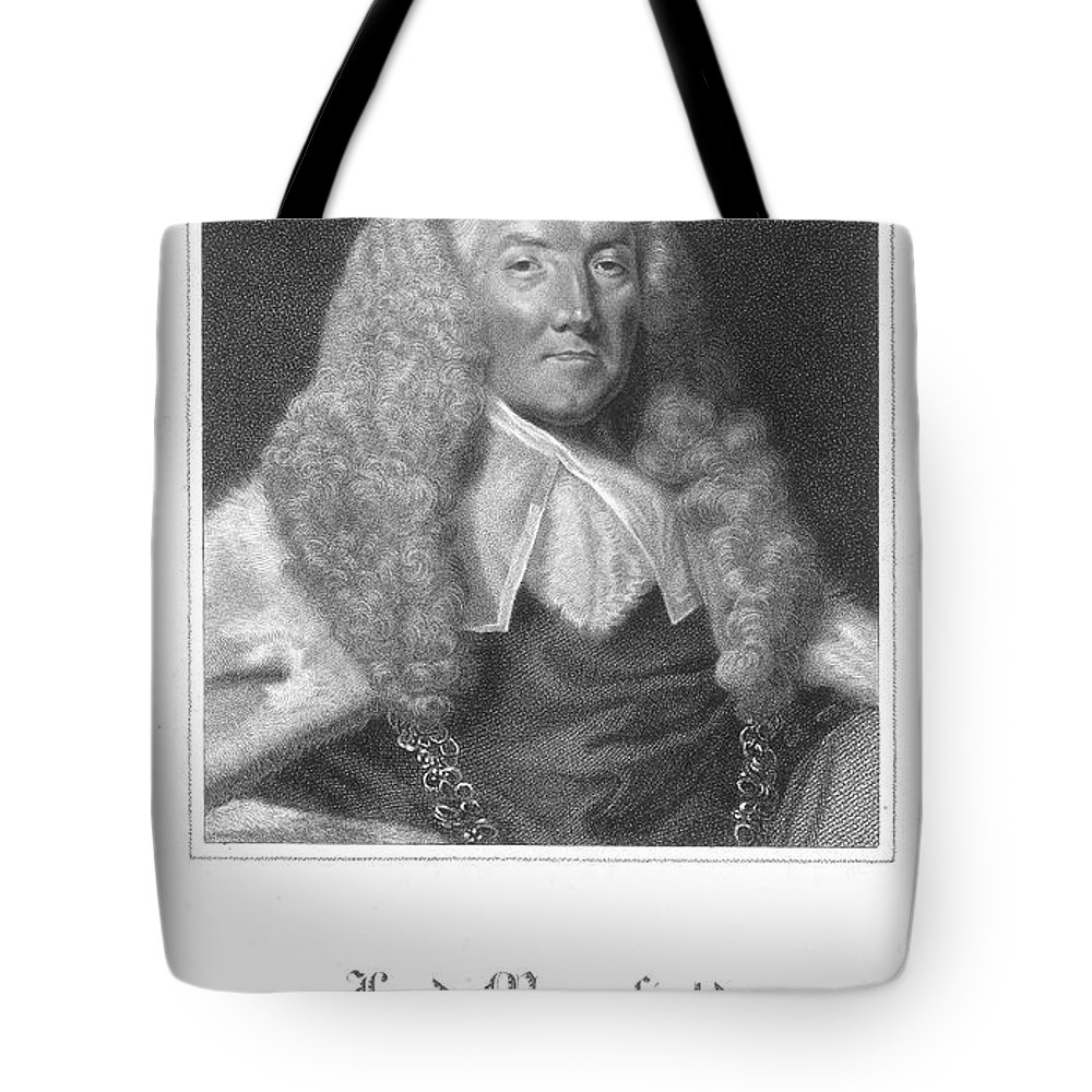 18th Century Tote Bag featuring the photograph William Murray (1705-1793) by Granger