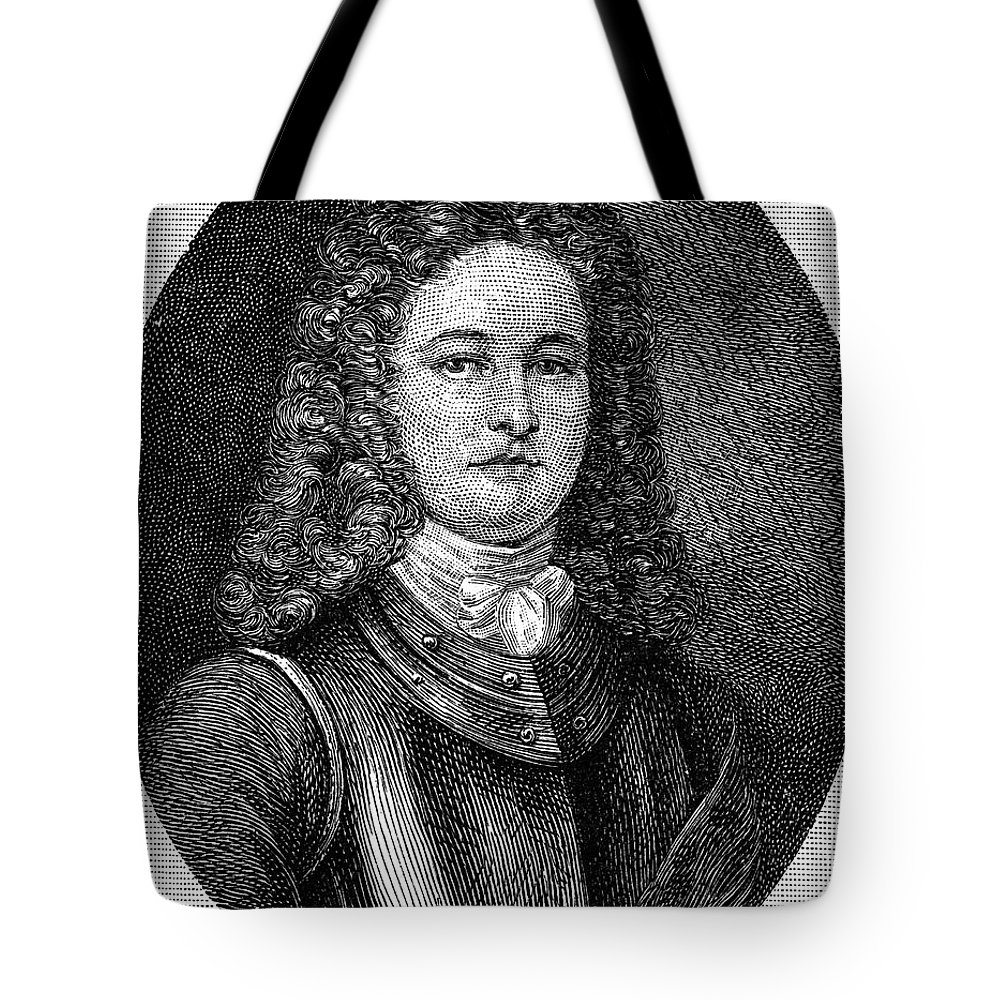 18th Century Tote Bag featuring the photograph William Rhett (died C1716) by Granger