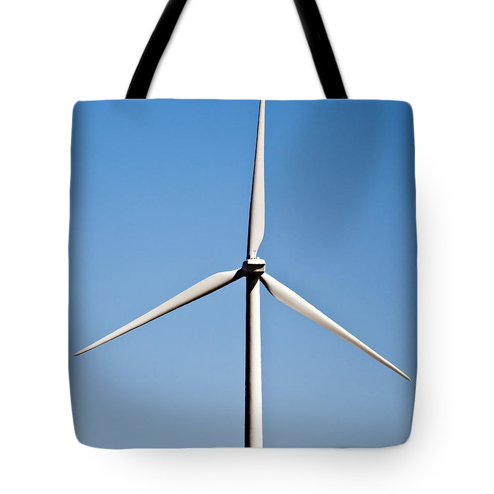 Wind Tote Bag featuring the photograph Wind Turbine by John Greim