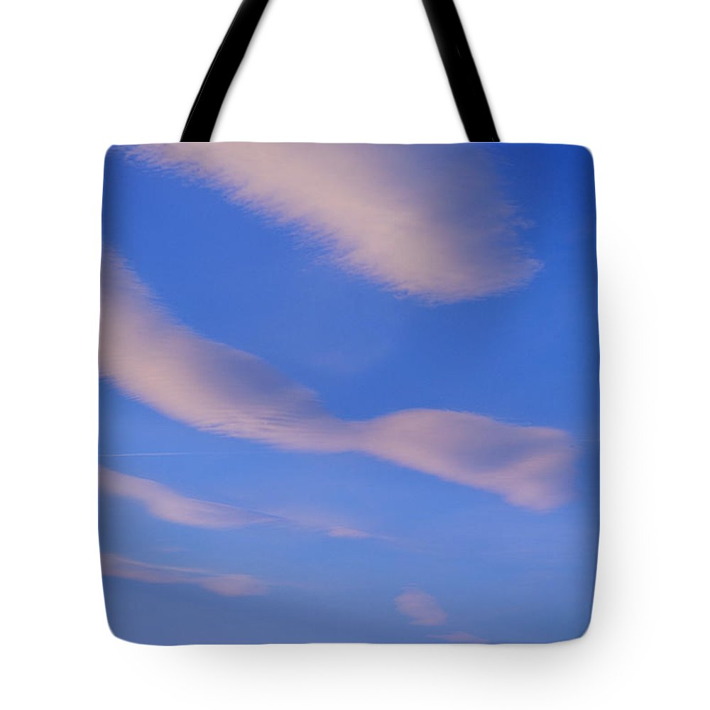 Cloud Tote Bag featuring the photograph Wind Turbines, Pincher Creek, Alberta by Mike Grandmailson
