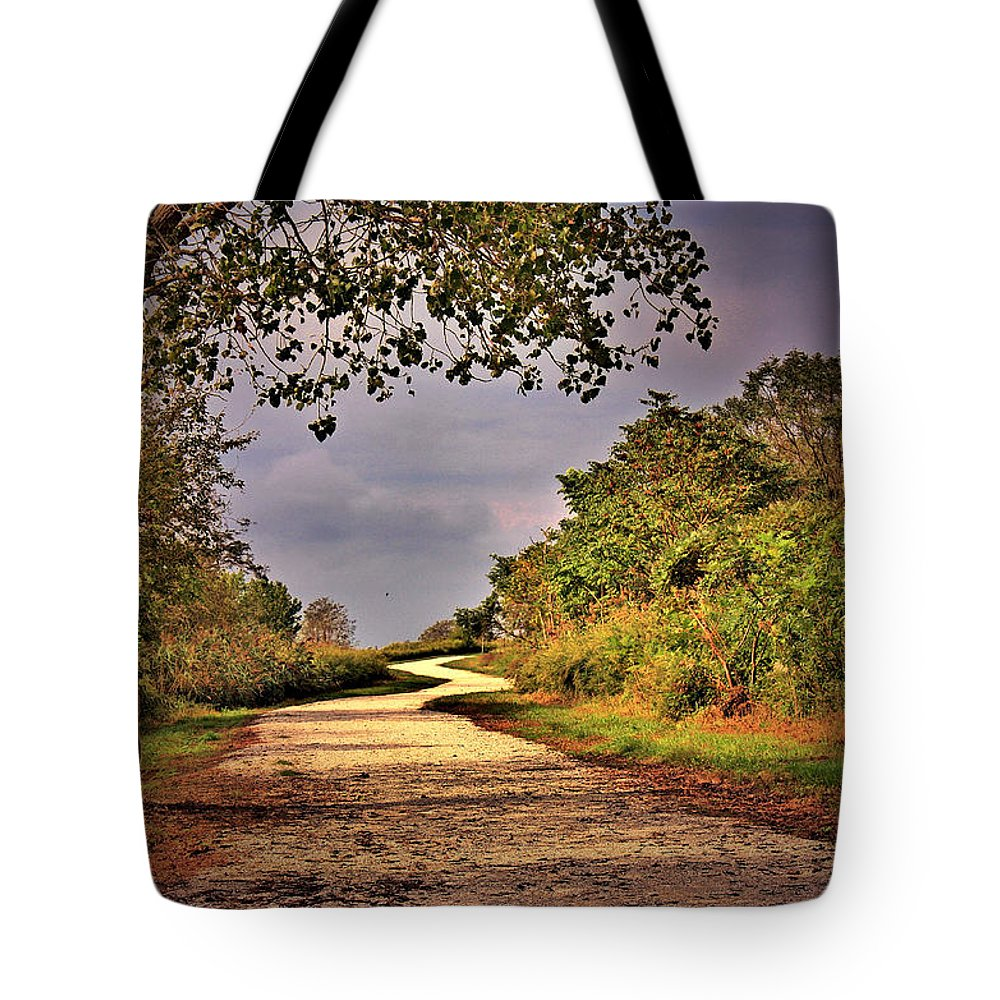 Nature Tote Bag featuring the photograph Winding Path by Mikki Cucuzzo