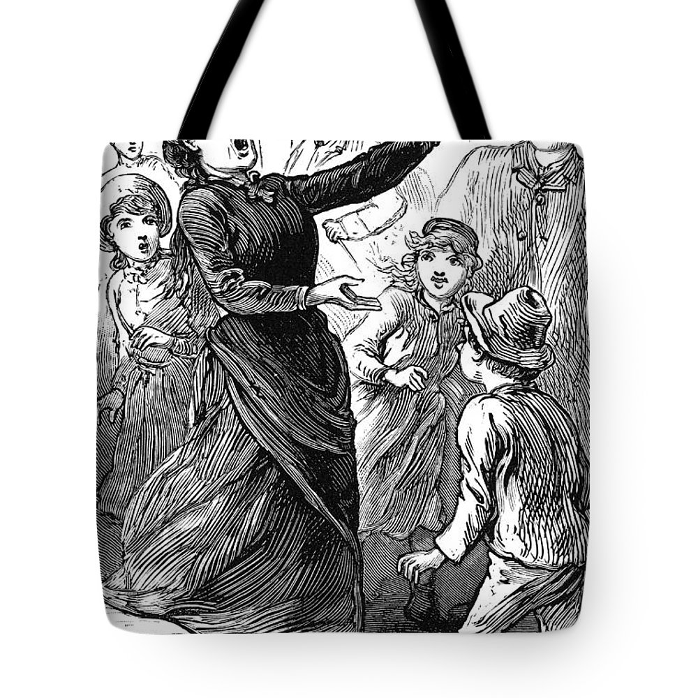 1888 Tote Bag featuring the photograph Woman Preaching, 1888 by Granger