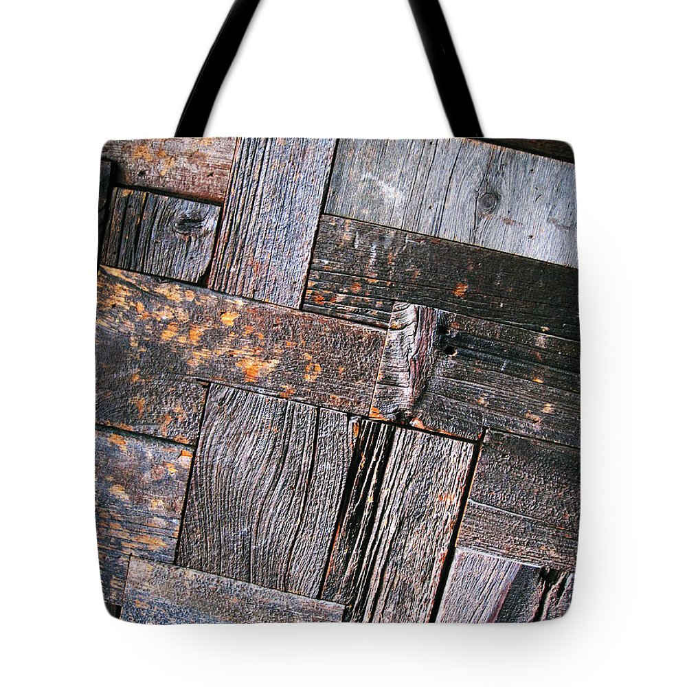 Wood Tote Bag featuring the photograph Wood by Eena Bo