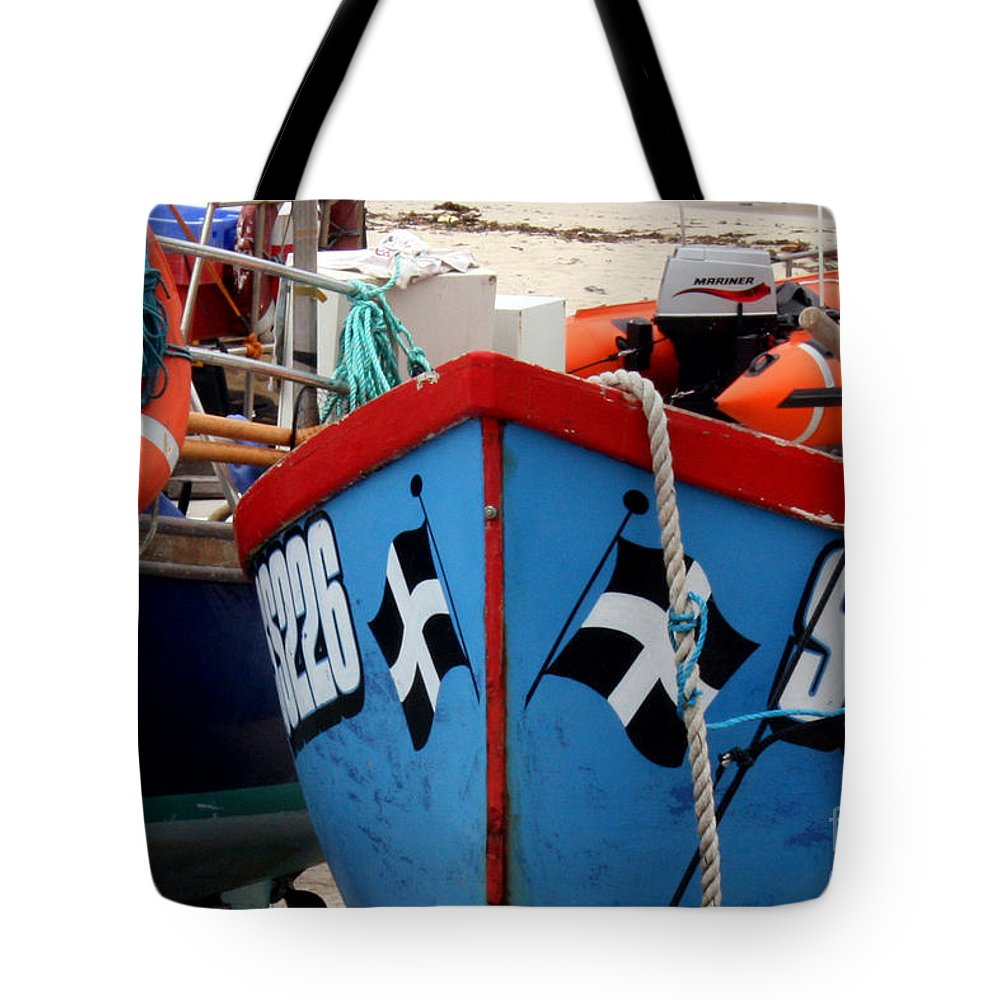 Harbour Tote Bag featuring the photograph Working Harbour by Terri Waters