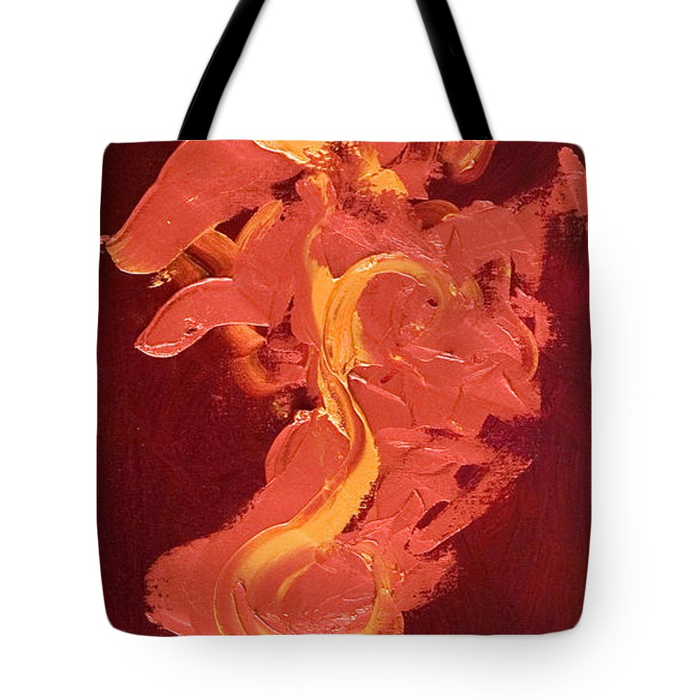 Year Of The Dog Tote Bag featuring the painting Year of the Dog by Shannon Grissom