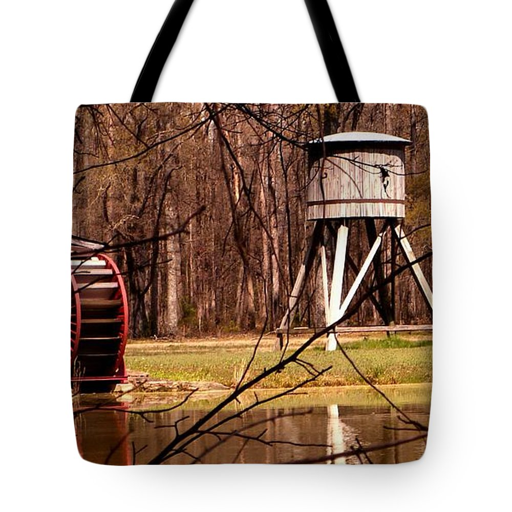 Railroad Tote Bag featuring the photograph Yesterday by Mark Moore