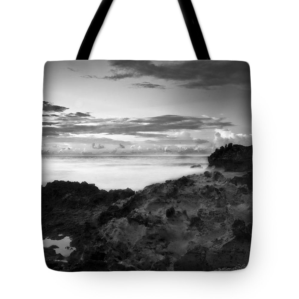 Seascape Tote Bag featuring the photograph You Humble Me by Kacy Taylor