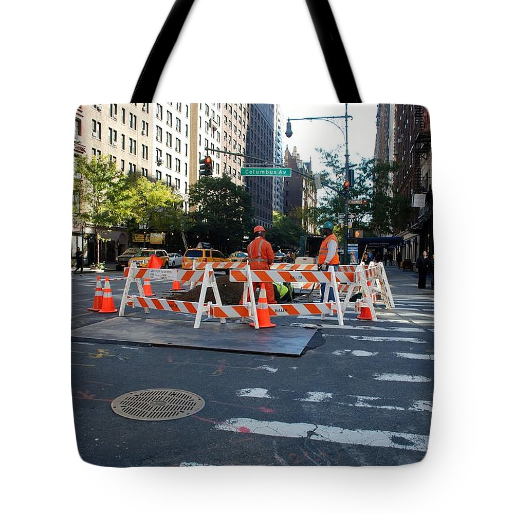 Colors Tote Bag featuring the photograph Your Tax Dollars At Work by Rob Hans