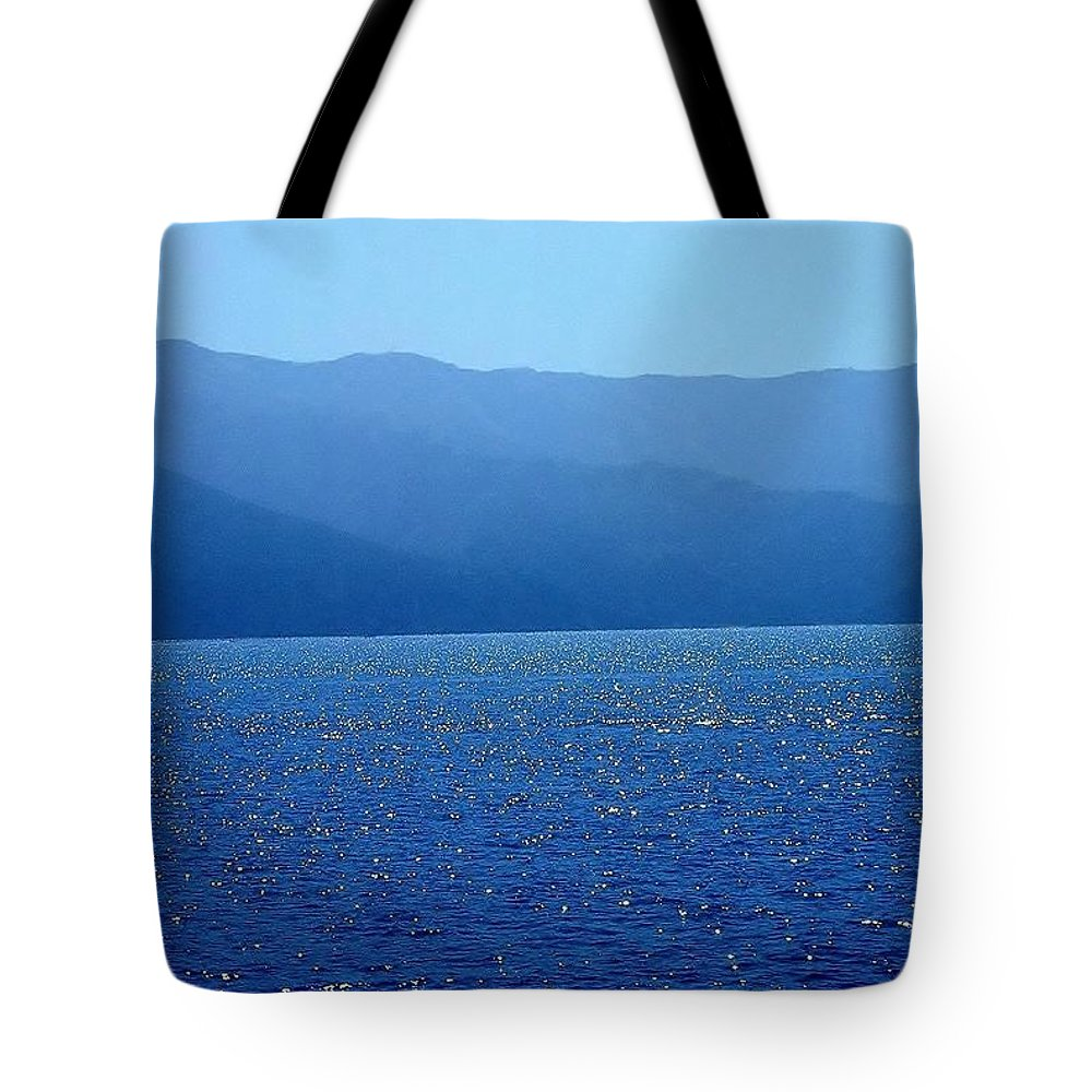 Catalina Island Tote Bag featuring the photograph Catalina Island, #2 - Seascape, 1978 by Robert C Marshall