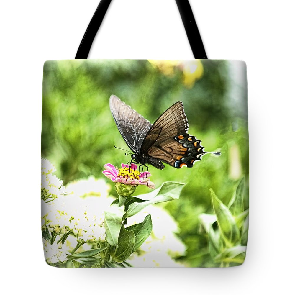 Ethereal Dreams Tote Bag featuring the photograph Ethereal Dreams by Ola Allen