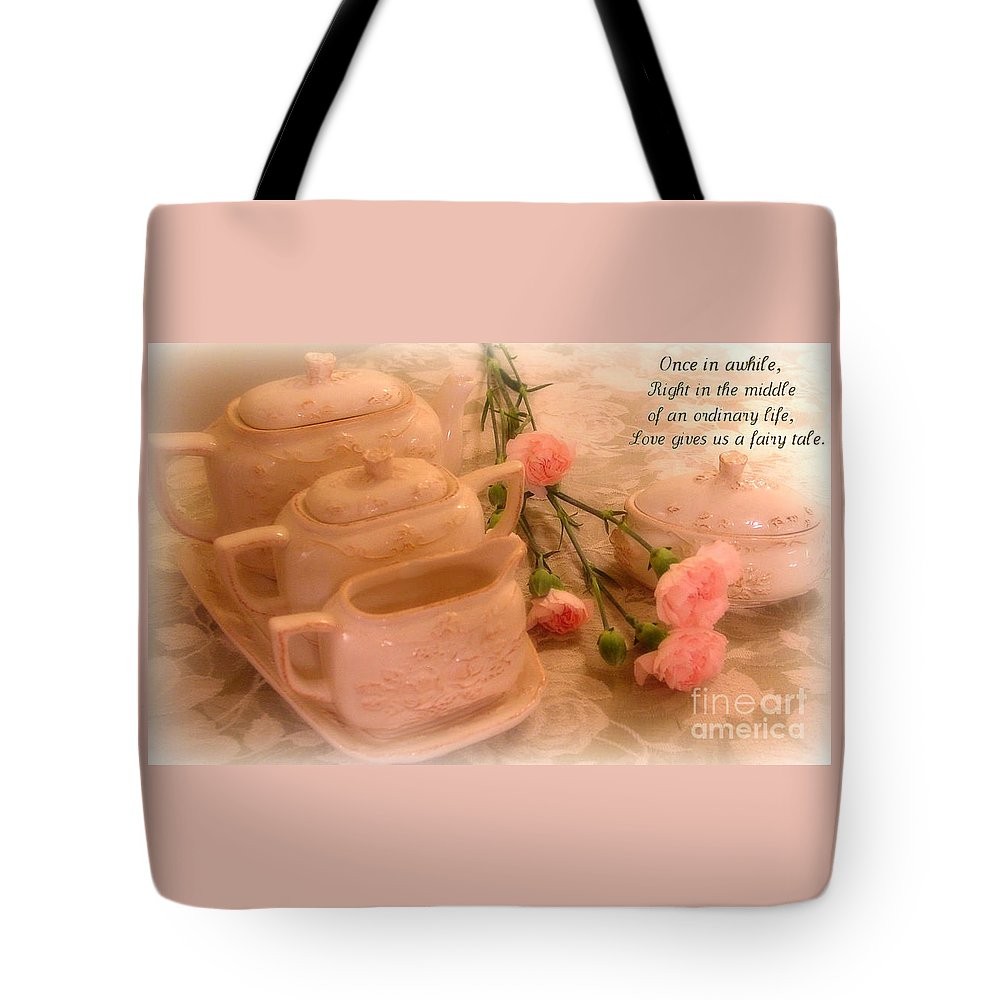 Kathy Bucari Tote Bag featuring the photograph Fairy Tale by Kathy Bucari