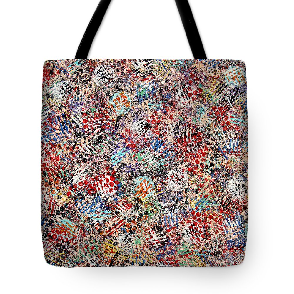Golf Tote Bag featuring the painting Golf by Natalie Holland