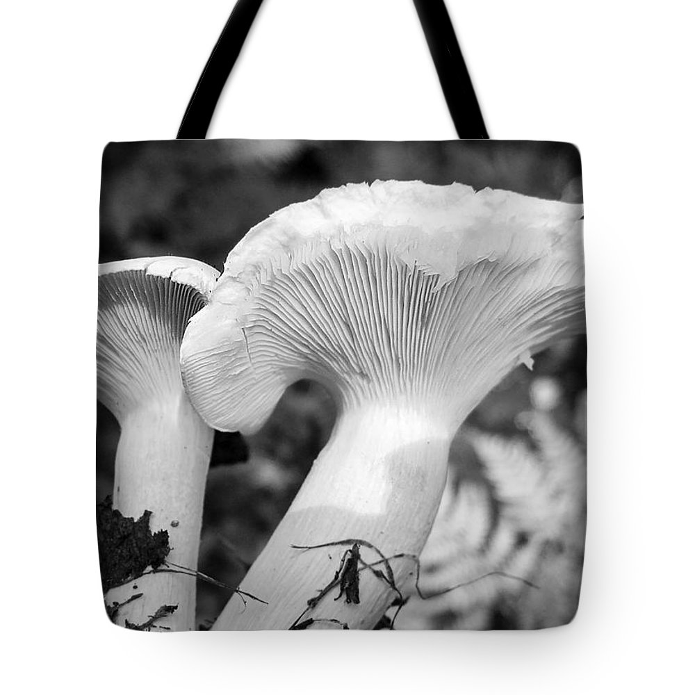 Forest Tote Bag featuring the photograph In The Evening Potatoes With Mushrooms Mmm by Irina Effa