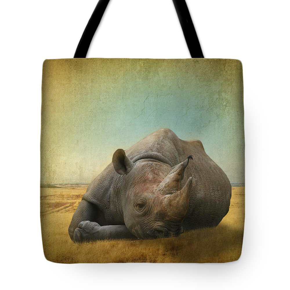 Lazy Days Tote Bag featuring the photograph Lazy Days by Dave Godden