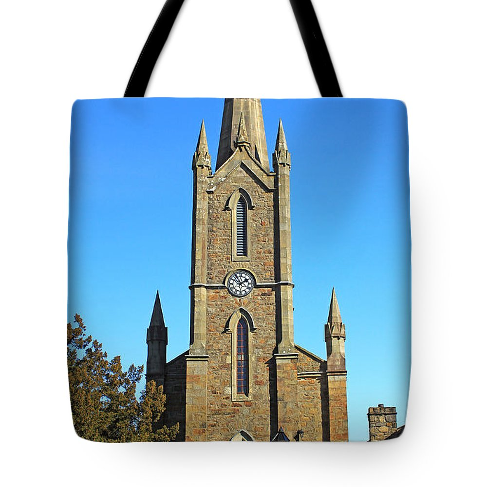 Church Tote Bag featuring the photograph Pointed Church by Jennifer Robin