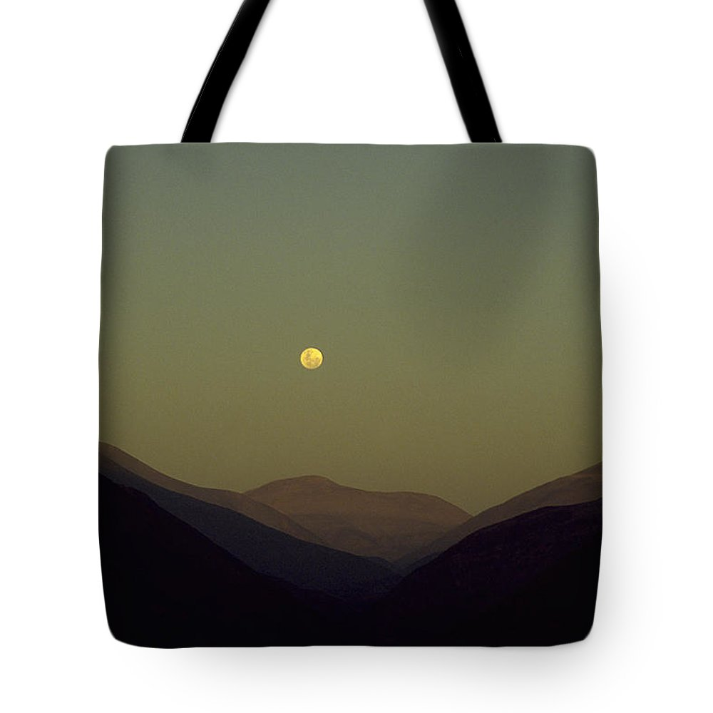 Photograph Tote Bag featuring the photograph The Andes Mood by Michael Mogensen