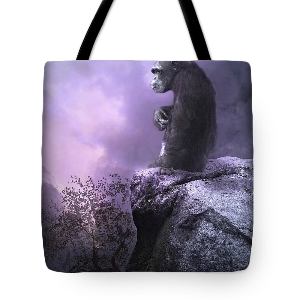 The Night Watch Tote Bag featuring the photograph The Night Watch by Dave Godden