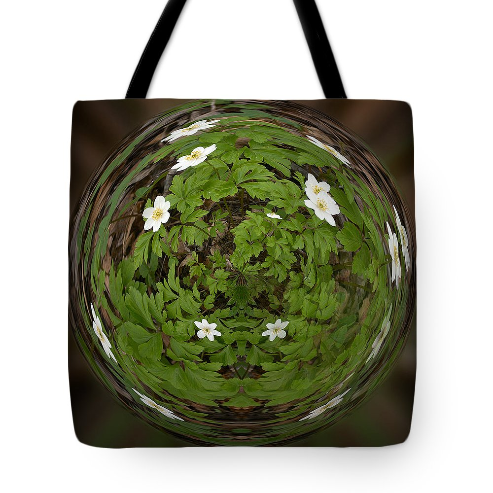 Lehtokukka Tote Bag featuring the photograph This Little Anemone Planet 4 by Jouko Lehto