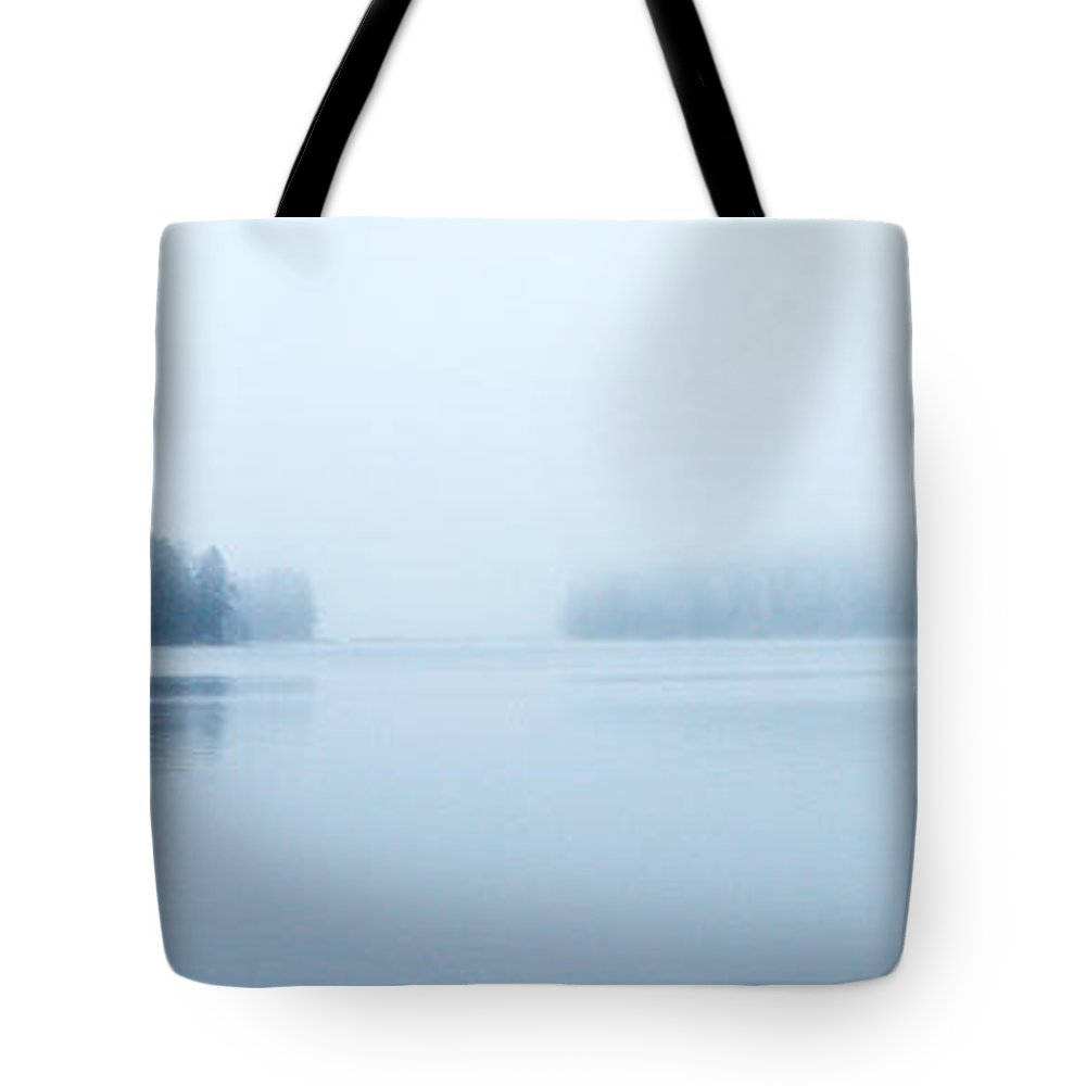 Järvi Lake Tote Bag featuring the photograph Two Islands by Jouko Lehto
