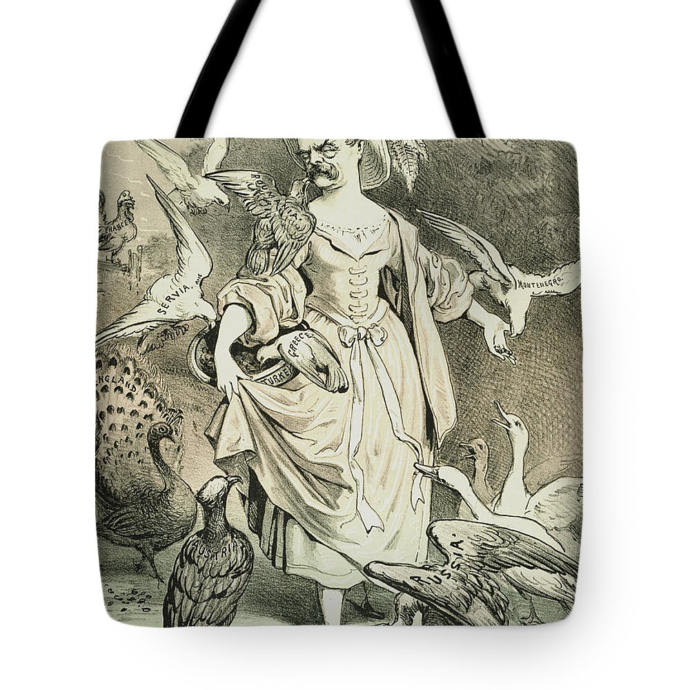 1878 Tote Bag featuring the painting Otto Von Bismarck by Granger