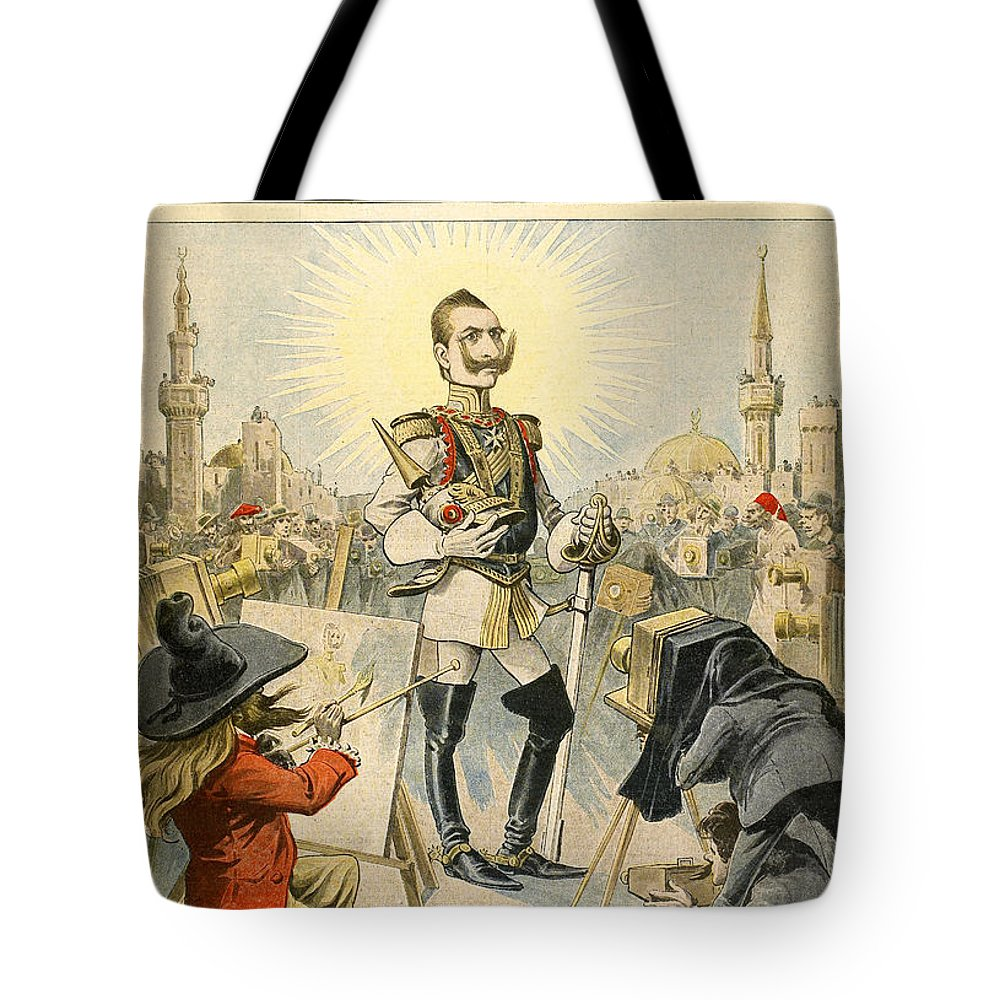 1898 Tote Bag featuring the painting William II Of Germany by Granger