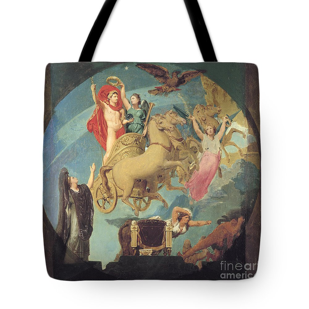 1835 Tote Bag featuring the painting Napoleon I (1769-1821) by Granger