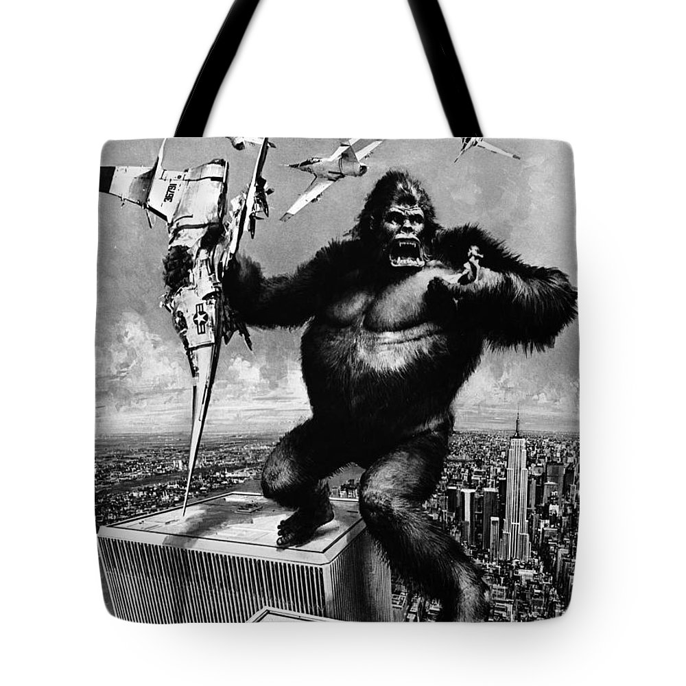 1975 Tote Bag featuring the painting King Kong, 1976 by Granger