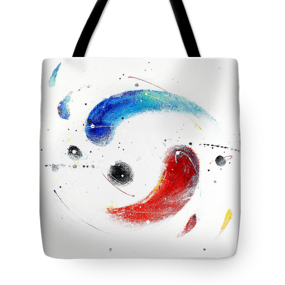 Painting Tote Bag featuring the painting 090824 by Toshio Sugawara