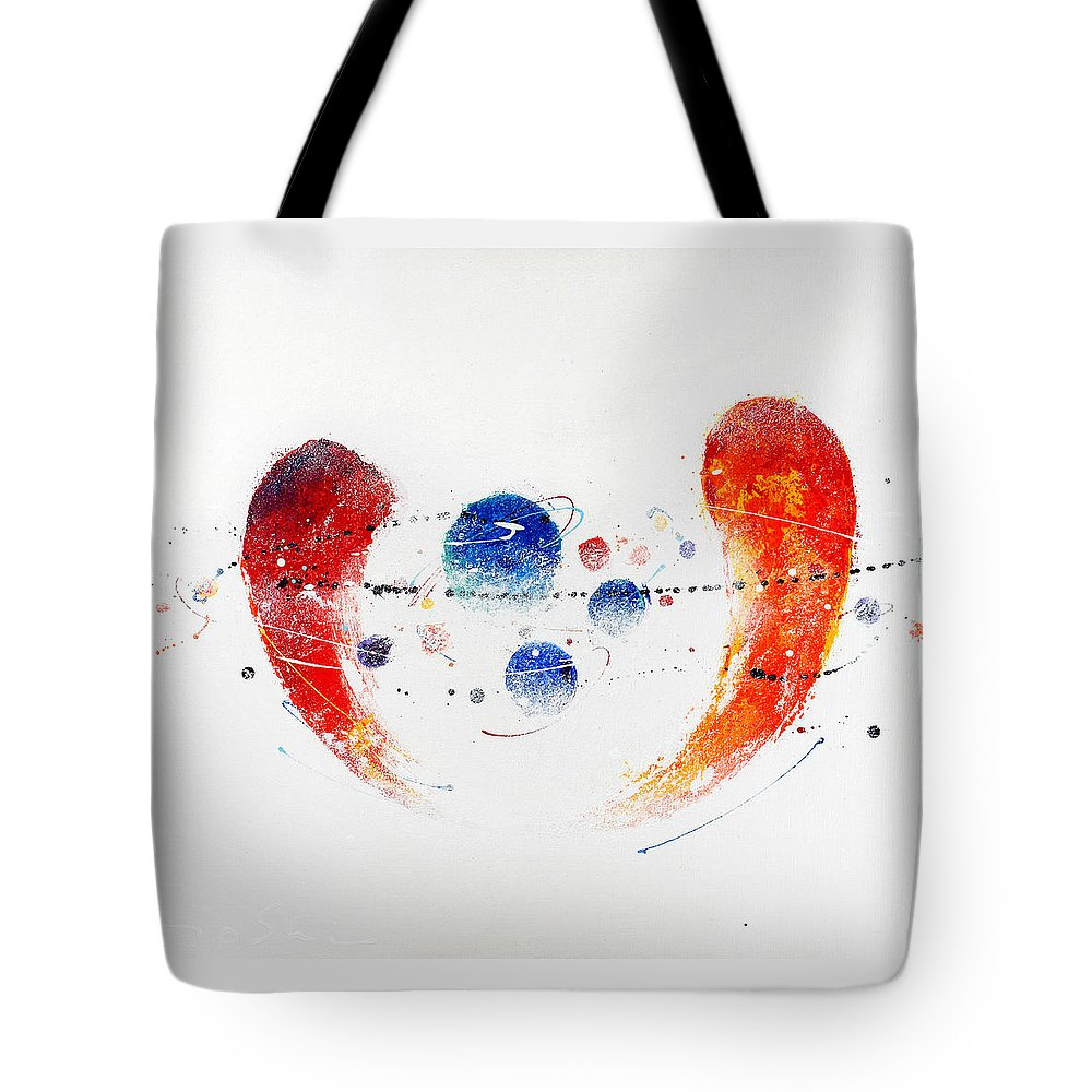 Painting Tote Bag featuring the painting 090825 by Toshio Sugawara