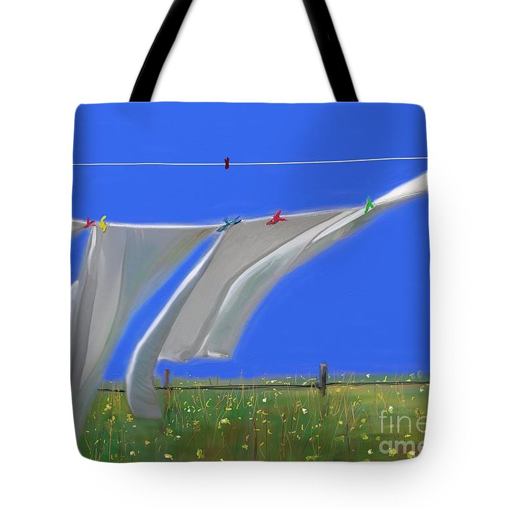 Photography Tote Bag featuring the photograph Cormorants At The Bay by Aline Halle-Gilbert