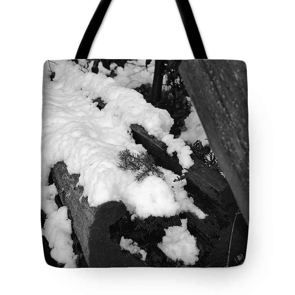 Nature Tote Bag featuring the photograph Snowy Wood by Natural Nature Photography