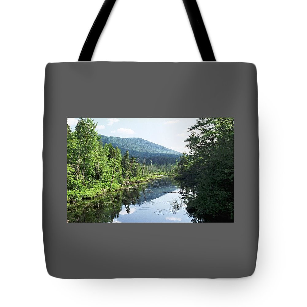 Mountain Tote Bag featuring the photograph 070506-84 by Mike Davis