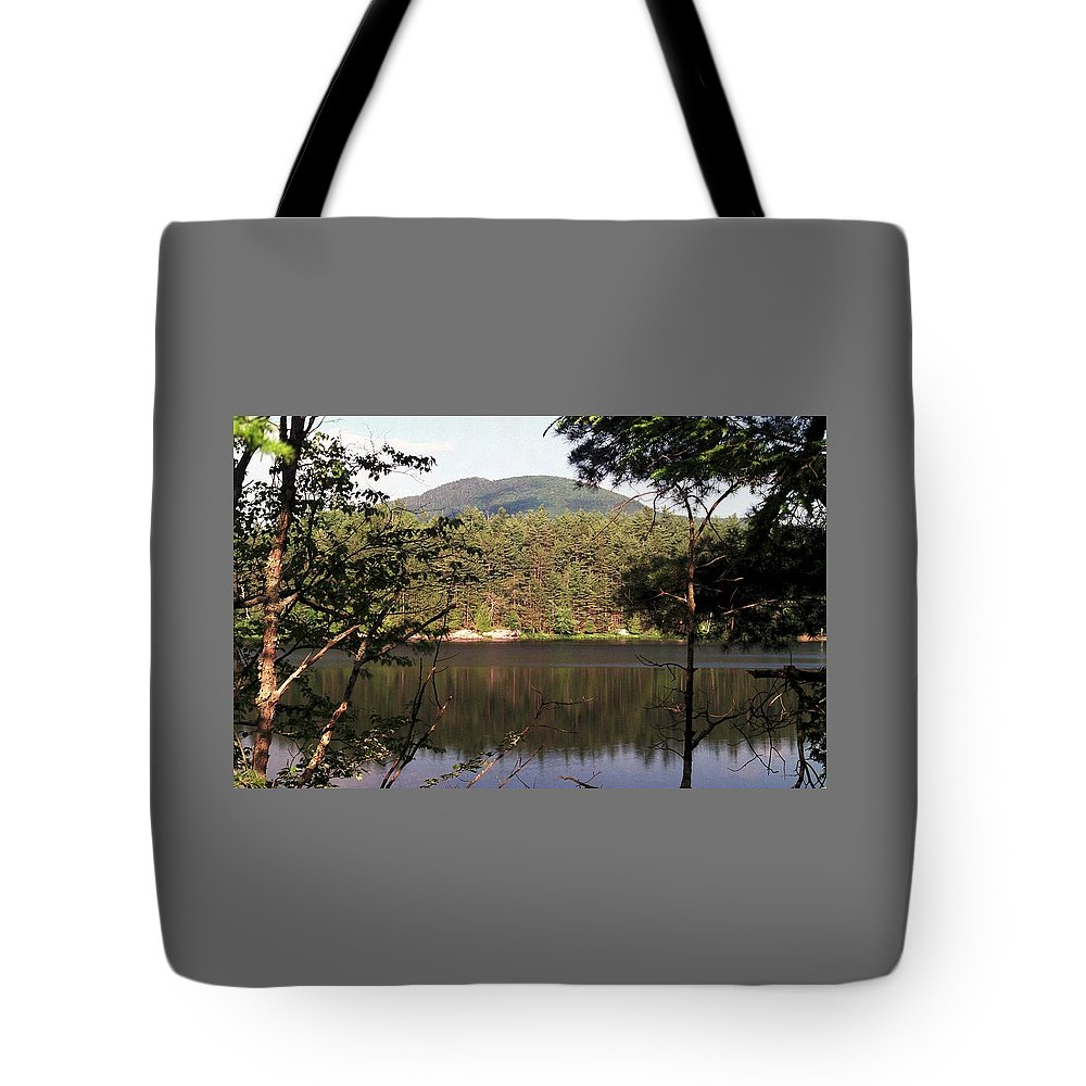 Mountain Tote Bag featuring the photograph 080706-84 by Mike Davis