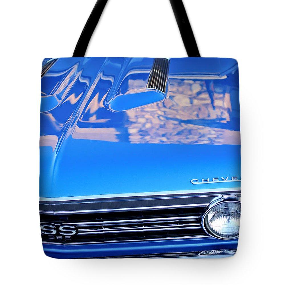 1967 Chevrolet Chevelle Super Sport Tote Bag featuring the photograph 1967 Chevrolet Chevelle Super Sport by Jill Reger