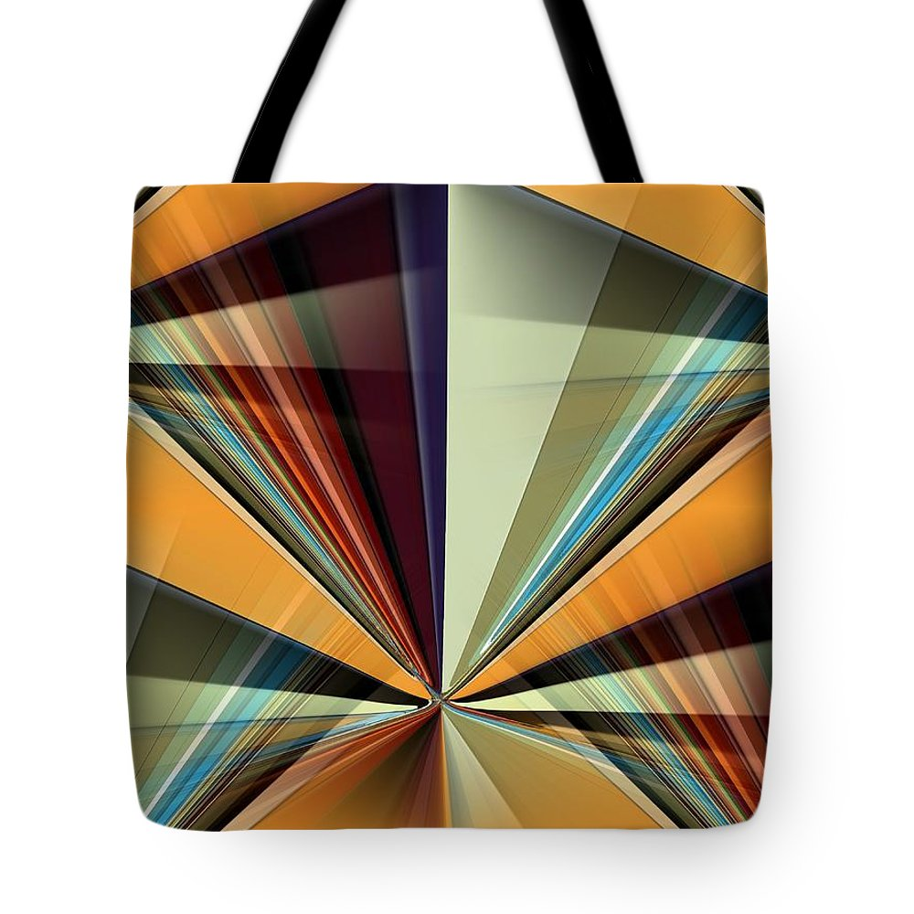 Girl Tote Bag featuring the digital art A Girls Best Friend by Tim Allen