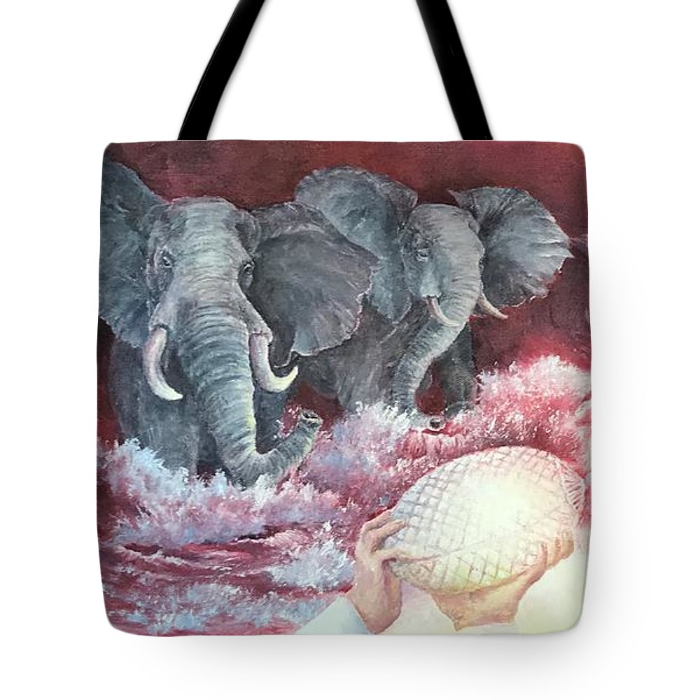Alabama Tote Bag featuring the painting A Tradition Of Heroes by ML McCormick
